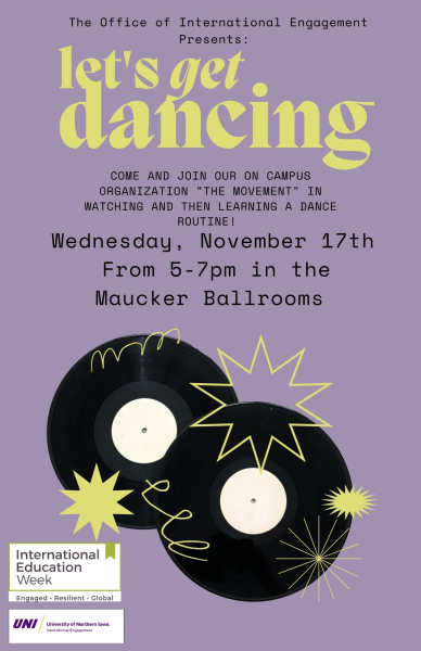 Dance Workshop with the MOVEment Poster